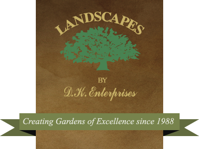 Landscapes by D.K. Enterprises logo